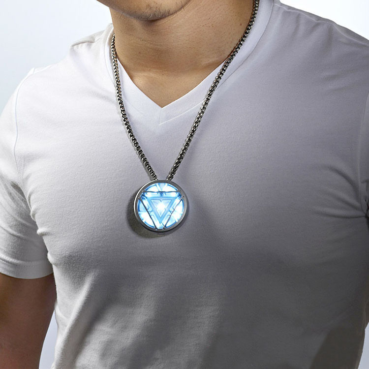 Iron man arc reactor necklace 4gb usb stick hero beast iron man arc reactor usb necklace 1 aloadofball Image collections