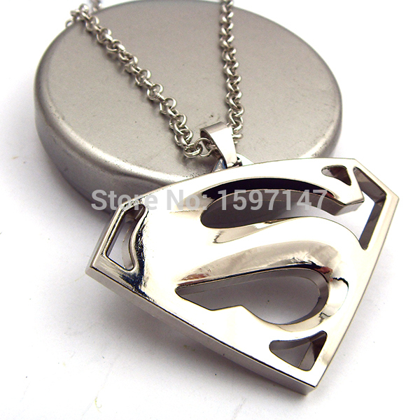 Superman pendant necklace hero beast superman cuff links 1g mozeypictures Gallery